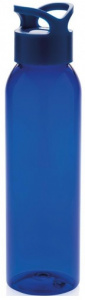 XD Collection drinkfles 26 cm 0,65 liter blauw
