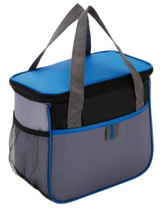 XD Collection cooler bag 5.7 litres polyester grey/blue