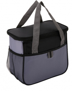 XD Collection cooler bag 5.7 litres polyester black/blue