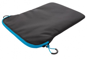 XD Collection laptop sleeve 15,4 inch polyester black/blue