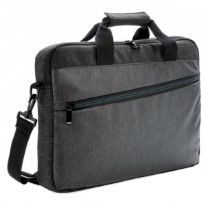 XD Collection laptop bag 15.6 inch polyester/PVC grey