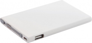 XD Collection powerbank 2500 mAh 9,6 x 6,3 cm ABS wit
