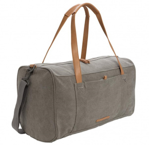 XD Collection travel/weekend bag 27L 46 cm canvas grey/brown