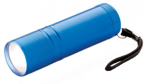 XD Collection taschenlampe led batterie 8,5 x 2,4 cm alu blau
