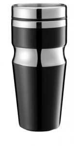 XD Design thermos flask 0Contour.35 liter stainless steel black