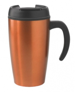 XD Design thermosbeker Urban 0,4 liter RVS oranje