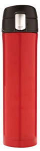 XD Design thermos flask 0.5 litre 25 cm stainless steel/polypropylene red