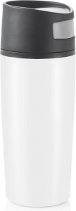 XD Design thermos flask Auto 0.3 liter polypropylene/ stainless steel white