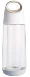 XD Design thermos flask Bopp Fruit 0.65 litres polypropylene white