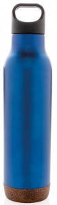 XD Design thermos flask 0Cork.6 litres stainless steel/polypropylene blue
