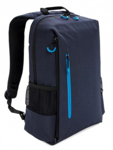 XD Xclusive laptop backpack USB 15.6 inch. polyester blue