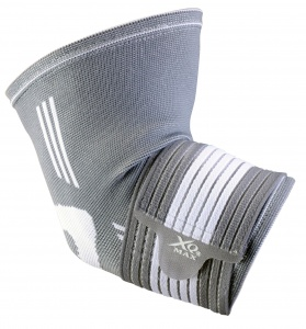 XQ Max elbow support unisex grey/white
