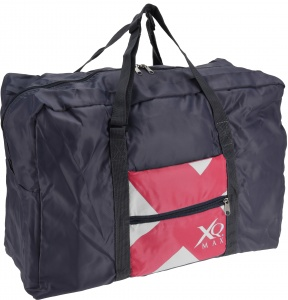XQ Max sports bag foldable 35 litres dark blue/pink