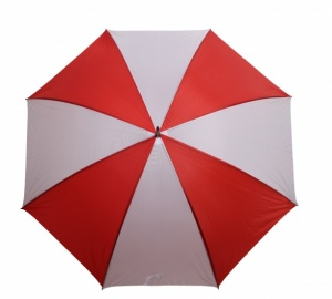 Yello Umbrella Golf 130 cm polyester red / white