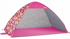 Yello Strandtent pop up 108 x 117 x 196 cm roze