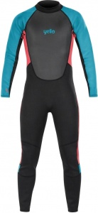 Yello wetsuit Thresher 2 mm jongens zwart