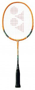 Yonex badmintonracket Muscle Power 2 junior oranje