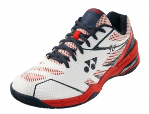 Yonex badmintonschoenen Power Cushion 56 wit/rood unisex