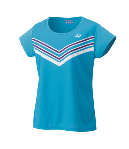 Yonex sportshirt dames polyester turquoise