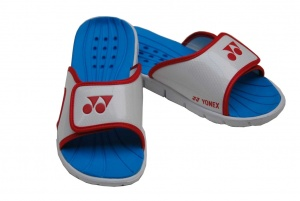 Yonex (tennis)slippers wit/rood