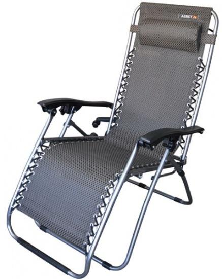 Abbey Chaise Lounge ll Stoel Zwart