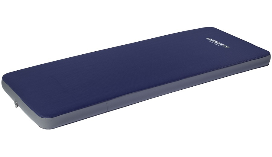 Abbey Camp luchtbed zelfopblaasbaar 1 persoons TPU marineblauw