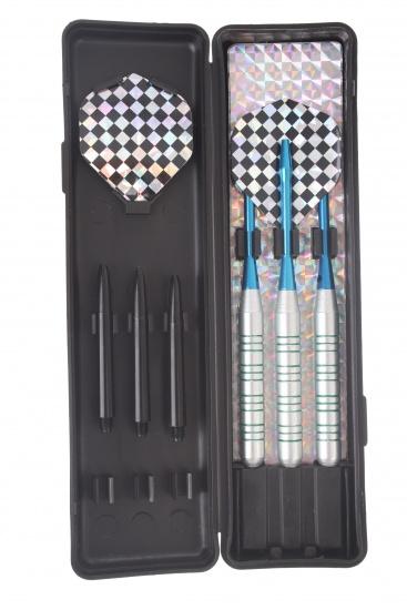 Abbey Darts Shuttle Steeltip Darts Nikkel 19 Gram