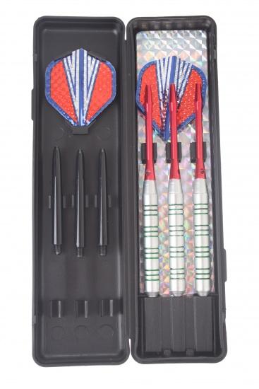 Abbey Darts Shuttle Steeltip Darts Nikkel 20 Gram