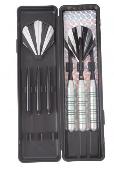 Abbey Darts Shuttle Steeltip Darts Nikkel 22 Gram