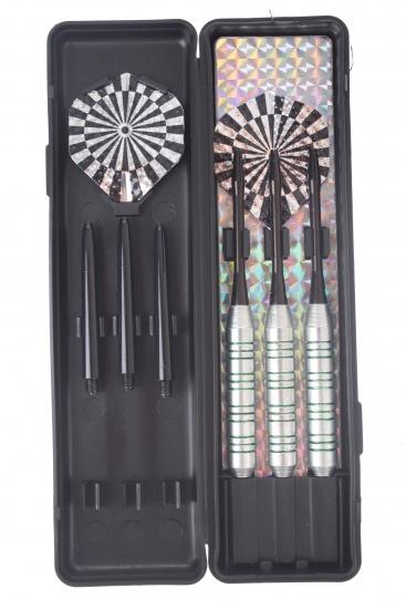 Abbey Darts Shuttle Steeltip Darts Nikkel 23 Gram