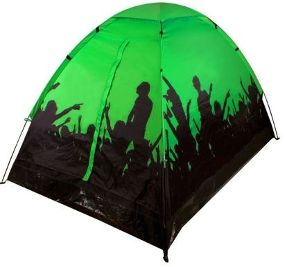 Abbey Festivaltent 1/2 Persoons Groen