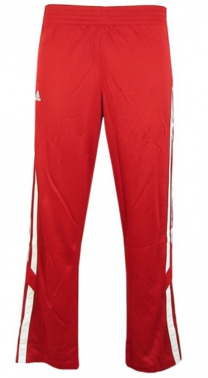 Adidas Sportbroek Lang E Kit 2.0 Snap heren rood maat XXXXL