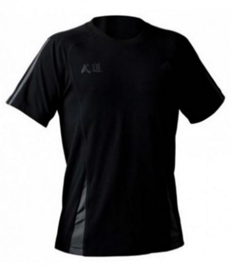 Adidas Sportshirt Climacool Zen KM heren zwart maat XS
