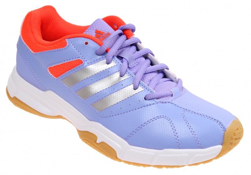 adidas badmintonschoenen Quickforce 3 dames paars maat 38