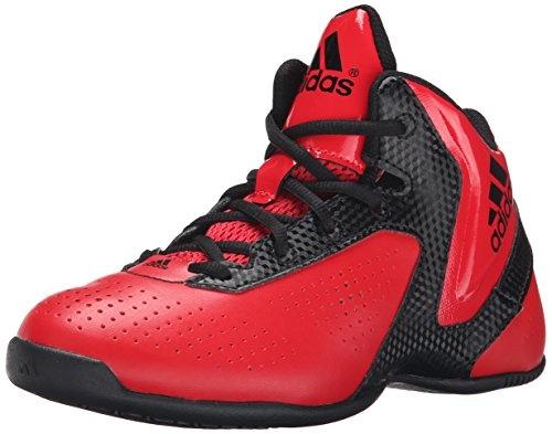 adidas Basketbalschoenen NXT LVL SPD 3 junior rood-zwart maat 30