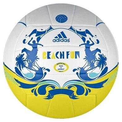 Adidas Beachvolleybal Z29470 Geel-Blauw Maat 5