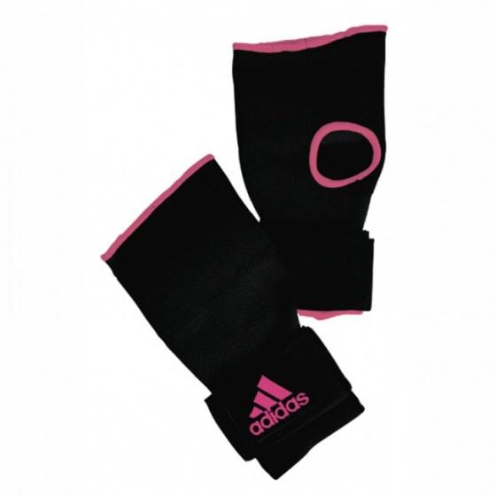 Adidas Gevoerde Binnenhandschoenen Zwart-Roze L