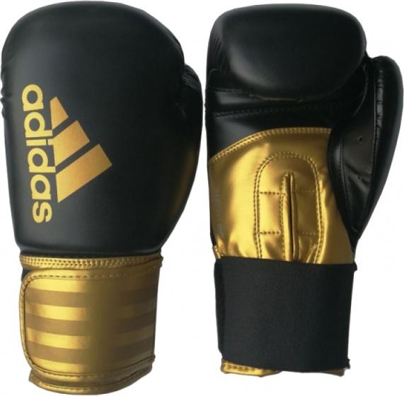 Adidas Hybrid 100 Bokshandschoenen 12oz Zwart-goud
