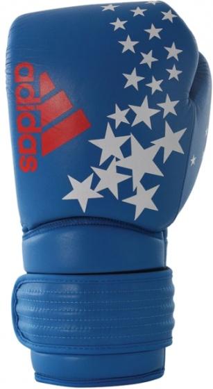 adidas bokshandschoenen Hybrid 300 Patriot Le unisex blauw maat 12 oz