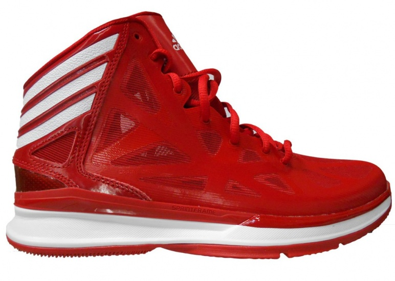 CRAZY SHADOW 2 HEREN BASKETBALSCHOEN ROOD MAAT 50