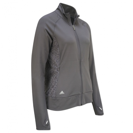 adidas dames golf vest grijs maat XL