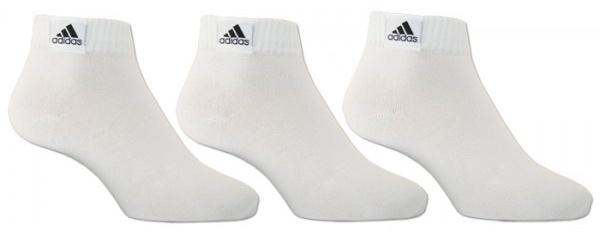 Adidas Enkelsokken CH07 3 pack unisex wit maat 51-54