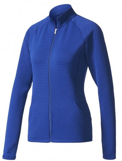 adidas Essentials golf vest 3 stripes dames blauw maat XS