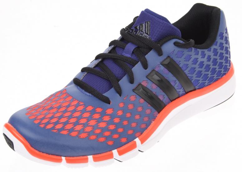 Adidas Fitness schoen Adipure 360.2 heren blauw- oranje maat 40