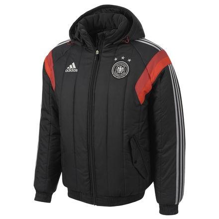 adidas gewatteerde jas Germany 2014 2015 heren zwart maat S