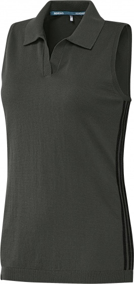 adidas golfpolo SS Performance dames donkergroen maat L