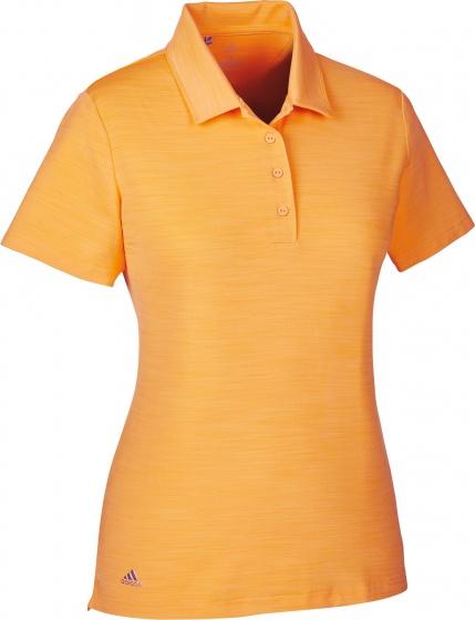 adidas golfpolo Ultimate SS P dames oranje maat XL