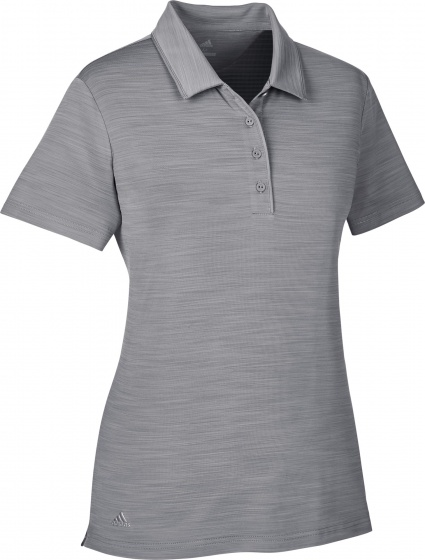 adidas golfpolo Ultimate SS P dames grijs maat XS
