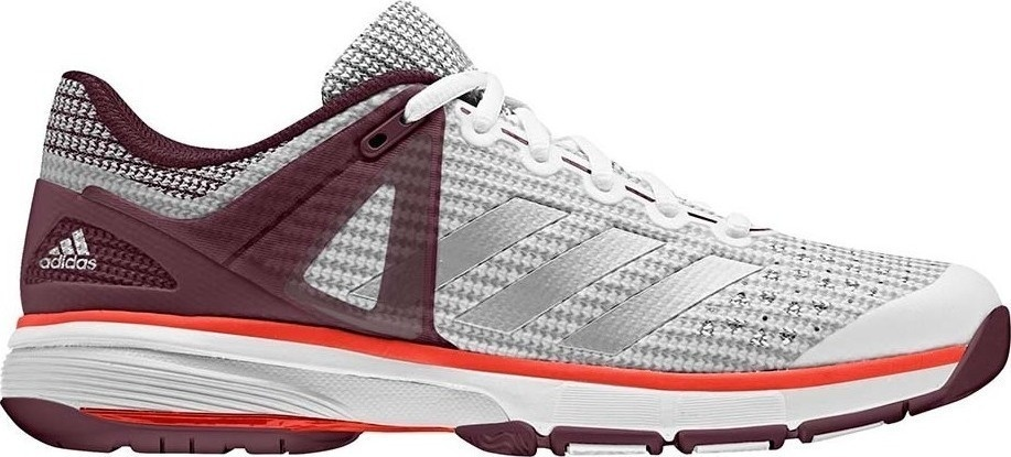 adidas Court Stabil 13 Schoenen, Wit, 41 1-3, Female, Handbal