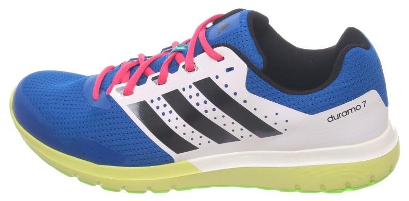 adidas Hardloopschoenen Duramo 7 heren blauw-groen maat 46 2-3